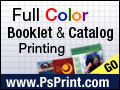Full Color Booklets from PsPrint