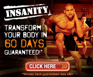 Insanity Conditioning Program