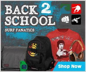 Back to School Shopping at Surf Fanatics