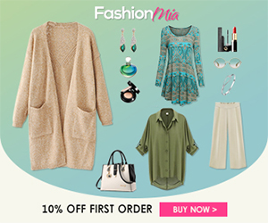 Get 10% Off First Order at Fashionmia.com!