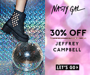 Take 30% Off Select Jeffrey Campbell Styles at Nasty Gal. 12/4/13 Only!