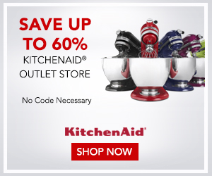 Go to KitchenAid.com Outlet Center for the best buys in kitchen countertop appliances. Get 10% off with the code