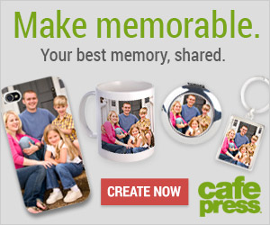 Make Memorable. Create a photo gift.