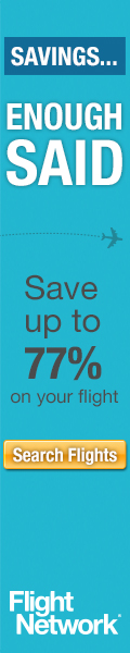 Flightnetwork - Savings! Enough Said. Save up to 77% on Your Flight!