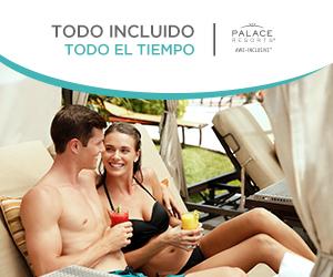 Vacaciones con Todo Incluido en Palace Resorts.