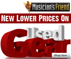 New Lower Prices on Used Gear at MusiciansFriend