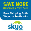 Skyo Textbooks - fast, easy and cheap.  Click here for free shipping!