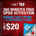Samsung T201g + 300 Minutes Free!