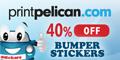 Printpelican.com Bumper Sticker