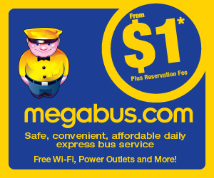 megabus tickets staring at 99 cents!