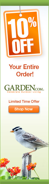 Take 10% Off Your Entire Garden.com order!
