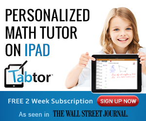 Tabtor: Personalized Math Tutoring on iPad