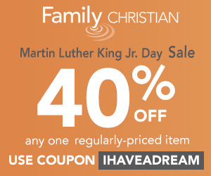 Martin Luther King Jr. Day 40% off coupon