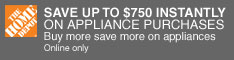 10% Off Appliances $297 or More. Plus, Free Delive