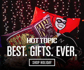 Best. Gifts. Ever. Shop Holiday at Hot Topic!