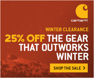 Winter Clearance - 25% off the Gear that Outworks Winter