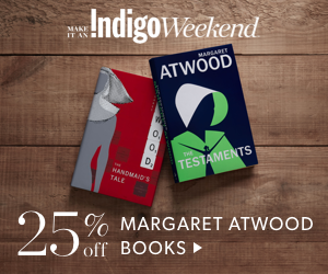 25% off Margaret Atwood Books (ends Sept 30)