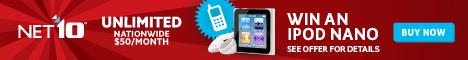 NET10 - Win an iPod Nano