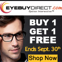 Buy One-Get One FREE prescription eyeglasses at EyeBuyDirect.com