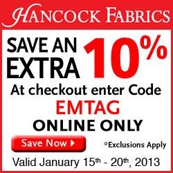 Hancock Fabrics June 2012 Promotion