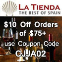 $10 off Your Order of $75+ at Tienda.com with Coupon CJJA02