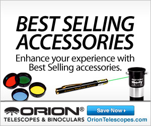 Best Selling Accessories at Orion!