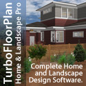 TurboFloorPlan Home and Landscape Pro - no experience required, simply drag and drop to plan!