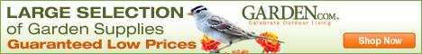 Garden.com coupon banner