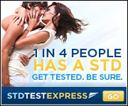 1 in 4 People has a STD, $25 off your order