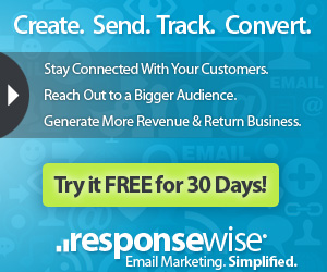 Response Wise Email Marketing - Try It FREE for 30 Days!