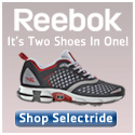 It's Two Shoes in One. Reebok Smoothfit Selectride