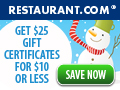 Holiday's at Restaurant.com