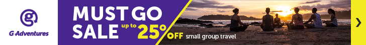 G Adventures Must Go Sale - Up to 25% Off!