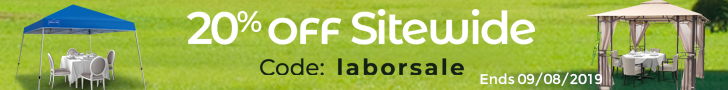 Labor Day Hot Sale! 20% Off Sitewide Plus Free Shipping! Code laborsale. Ends 9/8/2019.