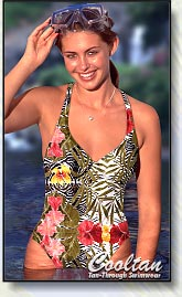 Cooltan Tan-Through Women's One Piece Swimwear