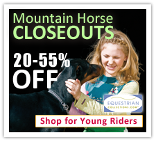 Mountain Horse Closeouts for Young Riders!
