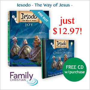 Iesodo: The Way of Jesus - new DVD JOY