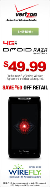 DROID Razr for Verizon Wireless
