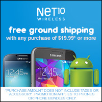 Net10 - Free Ground Shipping
