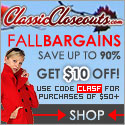 classiccloseouts.com, classic closeouts coupons