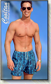 Men's tan through swimwear from Cooltan