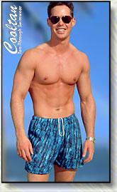 Men's tan through swimwear from Cooltan