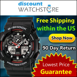 Free Shipping on ALL orders! DiscountWatchStore.com