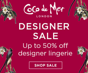 Up to 50% off Designer Lingerie in the Coco de Mer Sale