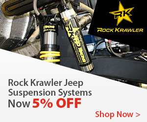 Rock Krawler Suspension products now 10% OFF! ends 2/1