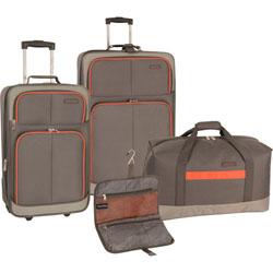 Nautica Centerline 4 Piece Luggage Set