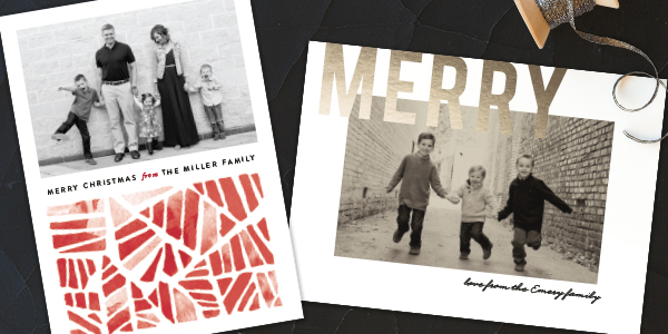 Christmas Cards with Minted Giveaway - 5 simple tricks for cuter Christmas cards!