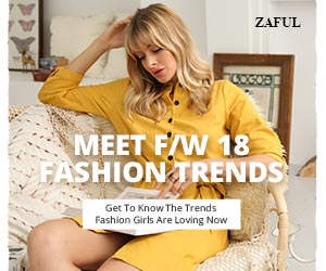 ZAFUL Fall/Winter 18 Fashion Trends, Sweater, Coat, Dresses, Coupon Code