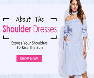 Get UP TO 30% OFF Shoulder Dresses.