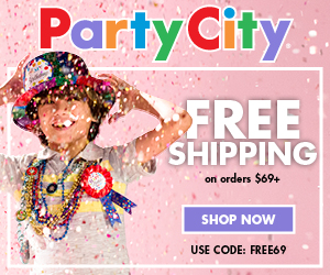 Party City - Free Shipping on Orders $69+